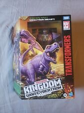 Hasbro Transformers War for Cybertron Kingdom Megatron Beast Leader WFC-K10