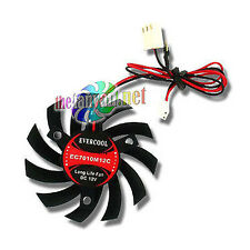 Evercool 70mm Drop In VGA Card Replacement Fan 3 screw   ***USA SELLER***