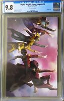 MIGHTY MORPHIN POWER RANGERS # 38 CGC 9.8. MERCADO VARIANT.