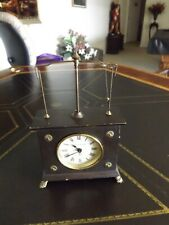 Vintage Jerome & Co. Flying Pendulum Windup Clock Runs