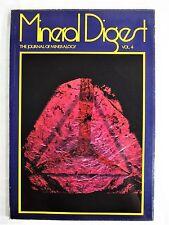 Mineral Digest Vol 4. The Journal Of Mineralogy 1972 Gemology Illustr Magazine