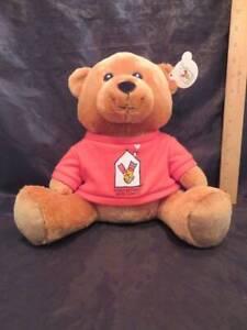 "Ronald McDonald House Charities 2012 Teddy Bear 10"" Tall"
