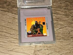 Ninja Taro w/Case Nintendo Game Boy Cleaned & Tested Authentic
