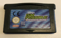 Gameboy Advance Kim Possible Cartridge Only Tested Working
