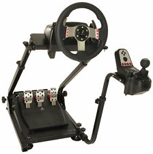 Conquer Racing Simulator Driving Gaming Wheel Stand and Gear Shifter Mount