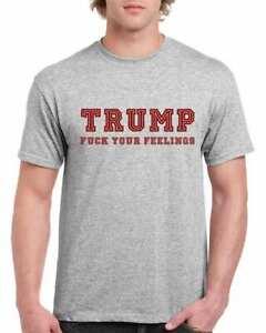 Trump Fuckingawesome Shirt The Donald Trump Funny Shirts Men's Gray Tshirt S-3XL