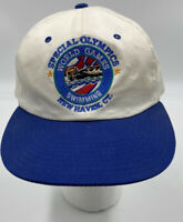 Vintage Starter Hat Special Olympics World Games USA Swimming New Haven b10