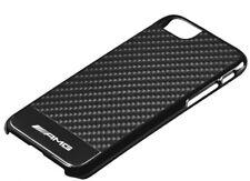 MERCEDES BENZ AMG ORIGINALE CASE PER IPHONE ® 6s & 7 Carbonio Nero/Argento NUOVO OVP
