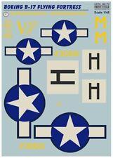 "Print Scale Decals 1/48 Boeing B-17F Flying Fortress ""Veni. Vidi. Vici."" # 48173"