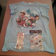 FairyTail Sticker, Keychain & T-shirt Bundle