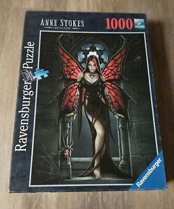Ravensburger Gothic Fantasy Red Butterfly Fairy Anne Stokes 1000 Piece  Puzzle