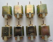 Eight (8) Johnson Electric 6Vdc Electric Motors for Small Toys, 2mm Shaft
