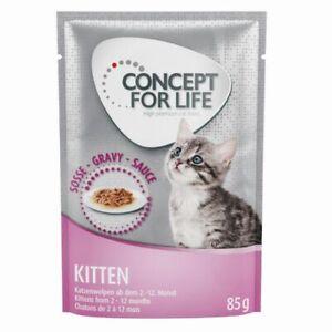 Concept for Life Kitten Balanced Nutrition Healthy Bones Joint Tasty, In Garvy