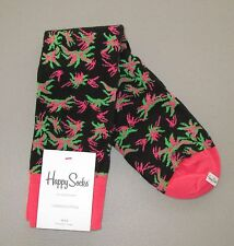 HAPPY SOCKS~Size 10-13~Unisex ALOHA Crew Cotton Blend Casual Socks