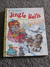 LITTLE GOLDEN BOOK...Hardcover book...1998...JINGLE BELLS...includes music!