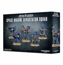 Warhammer 40k Space Marines Devastator Squad NIB