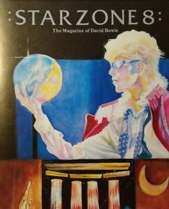 David Bowie Starzone 8 Vintage Original Magazine 1983 Serious Moonlight Tour