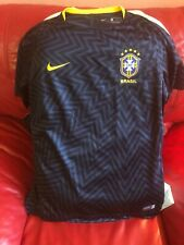 Nike Brazil Cbf Authentic Jersey Nwt Size Xl Youth Unisex