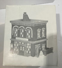 Dept. 56 New England Village Woodbridge Post Office #56572 Nib Mint!