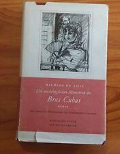 Machado De Assis Bras Cuba Roman Manesse Verlag  1950