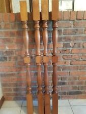 Newel post/accent baluster.  Each end 2 1/4 inches square; 46 3/4 inches long.