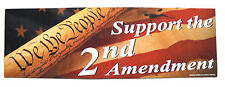 """Support The 2nd Second Amendment Flexible large Magnet 11.5 x 4"""" Great 4 Autos"""
