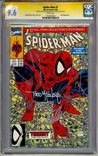 SPIDER-MAN #1 TORMENT CGC SS 9.6 STAN LEE AND TODD McFARLANE SIGNED