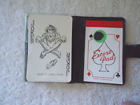 "Vintage Playing Card Set In Vinyl Plastic Case "" BEAUTIFUL COLLECTIBLE ITEM """
