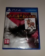 God of War III 3 Remastered PS4 New Sealed UK PAL Sony PlayStation 4 Kratos HD