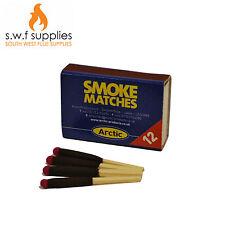 Smoke Test Matches Box Of 12 Flue Woodburner Log Burner Multi Fuel Stove