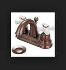 Pioneer 3BR220-ORB Two Handle Lavatory Bathroom Faucet Oil Rubbed Bronze Finish