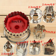 7pcs/set Stainless Steel Biscuit Cookie Cake Pastry Fondant Mold Mould Cutter