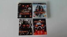 Lot Killzone 2 + Killzone 3 Complet sur PS3 !!!!