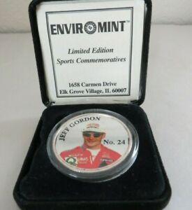 Jeff Gordon Nascar 1997 .999 Fine Silver Round Enviromint Limited Edition