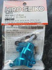 HIRO SEIKO 69010 1 Degree alloy rear hubs with ballraces Tamiya M03, TL01B, FF02