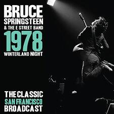 BRUCE SPRINGSTEEN New Sealed UNRELEASED LIVE 1978 SAN FRANCISCO CONCERT 3 CD BOX