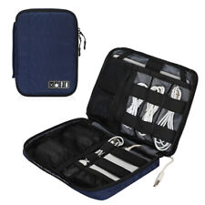 Electronics Accessories Carry Case Cable Organizer Cord Storage Bag 7.9-10.5''
