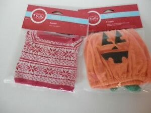 Scentsy Buddy's Clothing HALLOWEEN PUMPKIN COSTUME & PULLOVER SWEATER  New