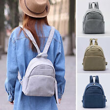 Women's Canvas Small Mini Backpack Rucksack Daypack Travel bag Purse Cute Bag