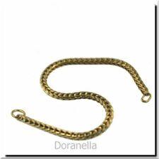 Trollbeads Original Foxtail 25218 Bracelet Gold 7.1 (6.1 Actual) Inch 7