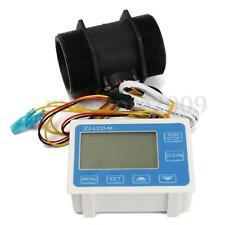 "G 2"" Inch Flow Water Sensor Meter+LCD Display Quantitative Control High Precisio"