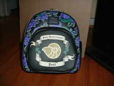 LOUNGEFLY DISNEY URSULA SHELL MINI BACKPACK~ WITH TAGS~ BRAND NEW~