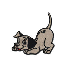 """101 Dalmations Dog Puppy Badge Embroidered Patch 5"""""""