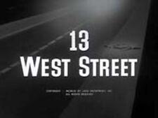 13 WEST STREET, 1962, Alan Ladd, Rod Steiger delinquent melodrama: DVD-R Region2