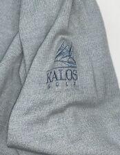 Scn Peter Millar wool blend v-neck sweater Kalos golf club Xl