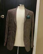 NWOT Ted Baker London Brown 100% Linen  Sports Coat Blazer Mens Sz 38R