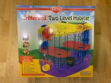 Kaytee Crittertrail Two level Habitat - Very good condition