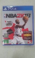 NBA 2K18 With Bonus PS4 Game New & Sealed