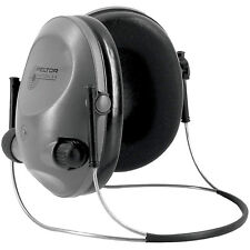 3M/Peltor Electronic Tactical 6S Earmuff Gray , NRR 19, Behind the Head, Stereo
