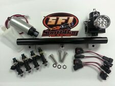 1000cc Honda Civic B16 B18 B20 OBD1/OBD2 Fuel Injectors Rail Walbro Pump AFPR